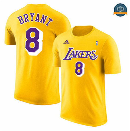 Camiseta Los Angeles Lakers - Gold