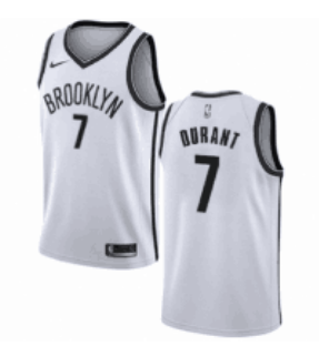 Cfb3 Camisetas Kevin Durant, Brooklyn Nets 2018 - Association