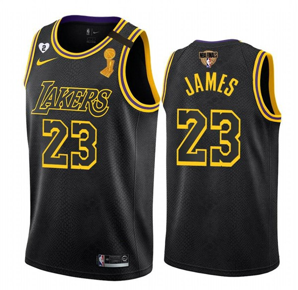 Camiseta Lebrom James #23 Edición especial Playoff 2020